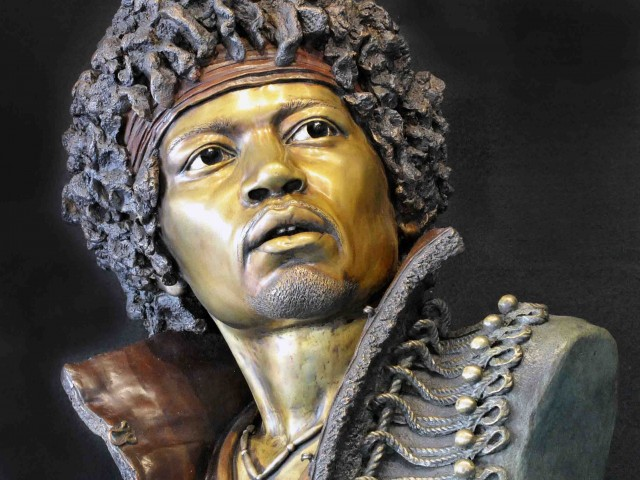 Jimi immortalised!