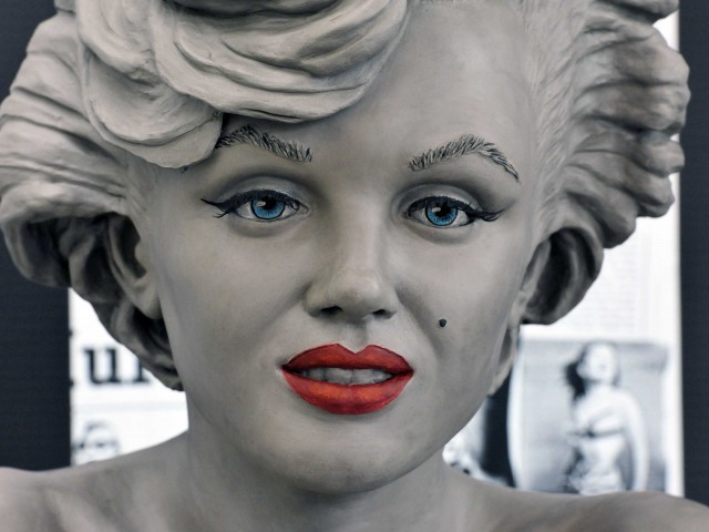Premiere night for Marilyn!